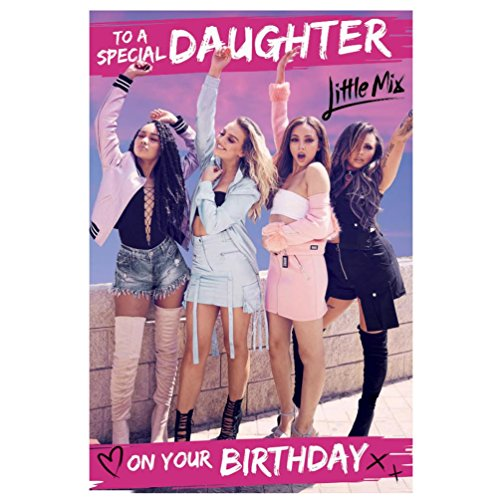 Little Mix - Daughter Birthday Card