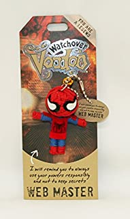 Watchover Voodoo Web Master Toy Keychain/Backpack, Multicolor, X-Large/One Size