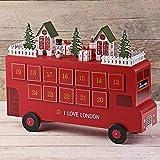 【カルディ限定】2020 クリスマス ロンドンバスウッドカレンダー(アドベントカレンダー)