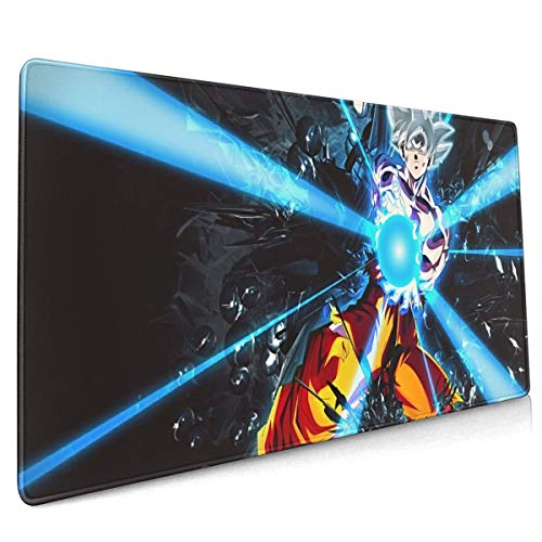 Extended Mouse Pad - Dragon Ball Super Goku XXL Gaming Computer Mousepad 35.43 X 15.75 X 0.12inch