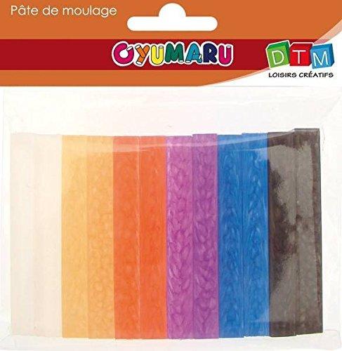 Oyumaru - Verarbeitung paste - Set von 12 verschiedenen Farben Brot No. 2
