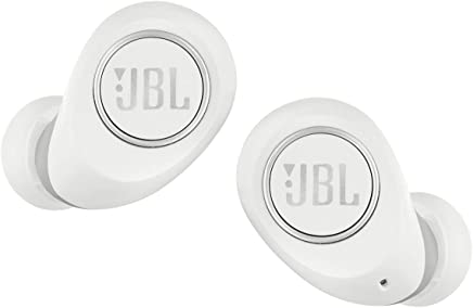 JBL Free X Truly Wireless in-Ear Headphones with Built-in Remote and Microphone (White)
