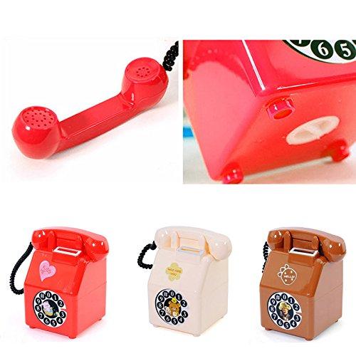 ryadia (TM) Creative forme téléphonique Tirelire pièce argent boîte pot Décoration pour enfant cadeau vente