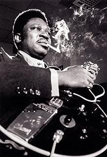 B.B. King Poster, Young Blues Boy, Singer, Guitarist, Blues Musician