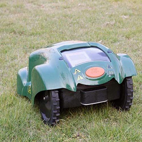 SHPEHP Cortacésped Robot Sensor de Lluvia y Apagado de Segu