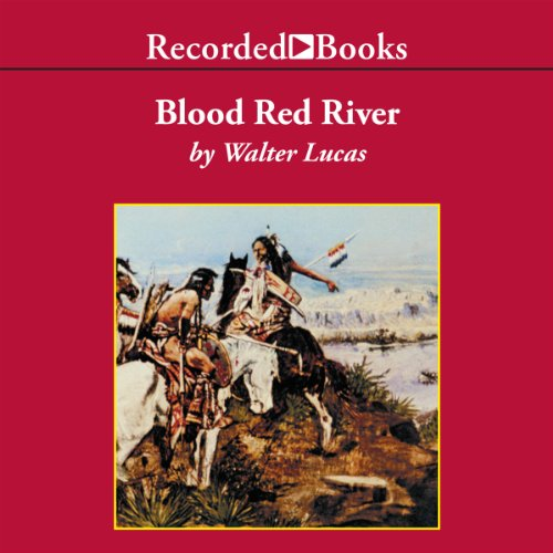 Blood Red River audiobook cover art
