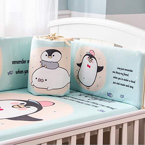 Rembourré Garde de couverture de rail de lit de bébé Protecteur de dentition Safe pour longs rails de lit avant