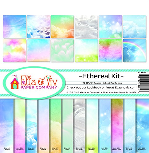 Ella & Viv by Reminisce Ethereal Scrapbook Collection Kit