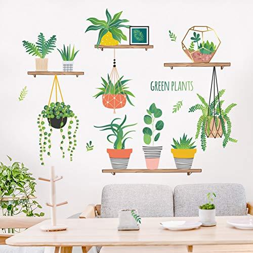 Frischen pflanze wand aufkleber nacht aufkleber wohnzimmer dekoration renovierung wand abnehmbar und leicht zu paste