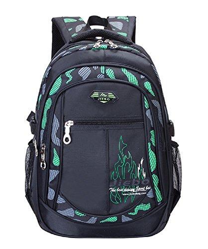 Fanci Flora Camo Waterproof Primary School Backpack Bookbag for Teenage Boys Camouflage Schoolbag Rucksack