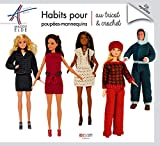 Habits pour poupées-mannequins au tricot et crochet: 24 modèles