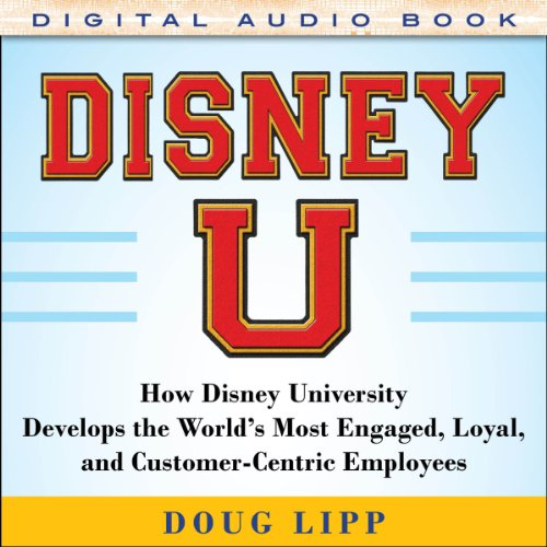 Disney U audiobook cover art