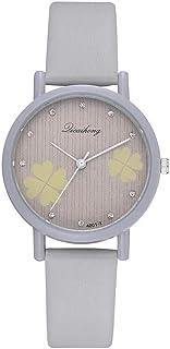 wall clock, Women's Wrist Watches Ladies Series Girls Watch Female for Women Women's Watch Four-Leaf Clover Small Fresh Te...