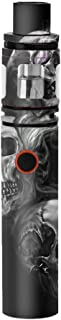 Skin Decal Vinyl Wrap for Smok Stick V8 Pen Vape Stickers Skins Cover/Glowing Skulls in Smoke