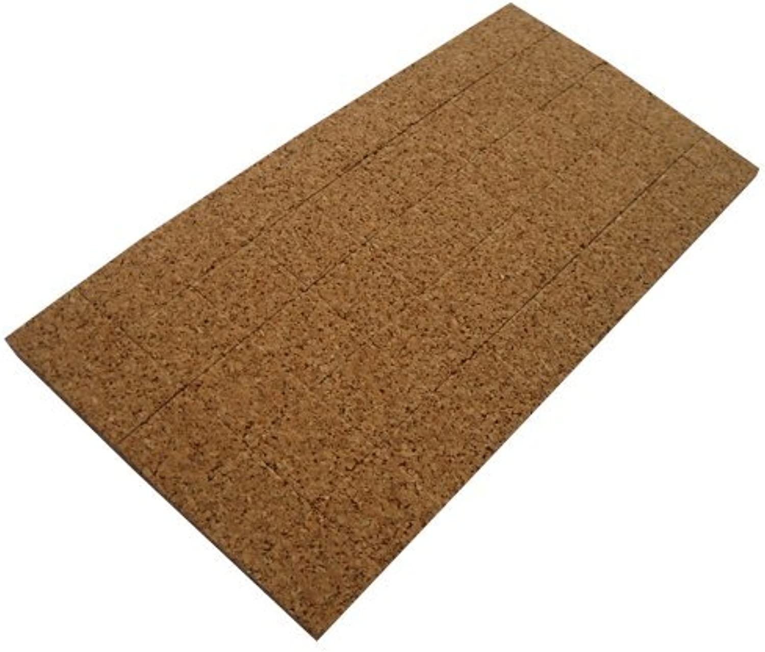 48 Pads Cork(1 16 ) And Cling Foam(1 16 ) - 1 8  Thick X 3 4  Long X 3 4  Wide X 50 Pieces