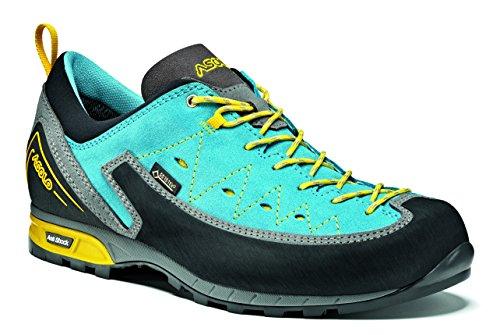 Asolo Apex gV ML Chaussures de Montagne, Femme, Femme, A12029A652, Multicolore - Cyan (Donkey/Cyan Blue), 5,5UK