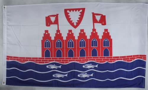 Fahne Flaggen HEILIGENHAFEN 150x90cm
