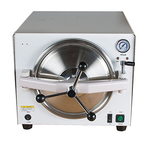 Review 900W Autoclave Steam Lab Equipment 18L Sold by Superdental