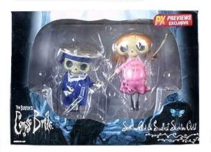 Corpse Bride Skeleton Boy & Girl Japanese Import Collection Doll Set