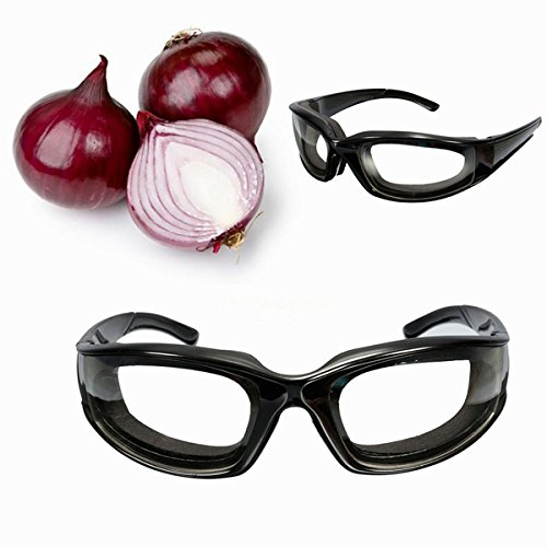 Bluelover Cebolla Goggles Gafas Rebanar Cocina Corte Picar Picado Ojo Proteja Cebolla Gafas