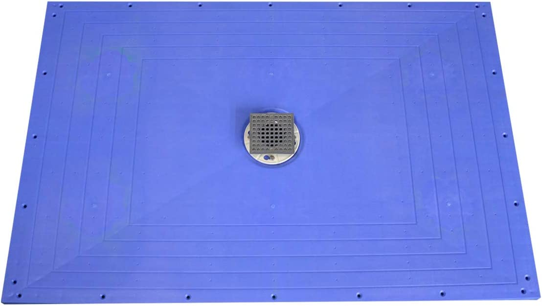 Uni-Green Shower Pan Ready Credence Tile Level 32