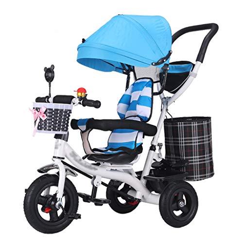 QDY-Strollers Cochecito para niños con Marco de Acero de Alto Carbono, toldo Anti-UV y arnés de Seguridad para bebés de 6 Meses a 6 años de Edad