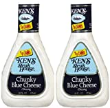 Ken's Chunky Blue Cheese Dressing, 16 oz, 2 pk
