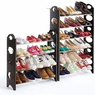 Just Home Zapatera Rack 10 Niveles para 30 Pares Zapatos