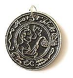 Terre Divinatoire Amulette et Talisman Protection - Bijoux Esoterique - en Pendentif ou sur Soi - A Le Pouvoir sur LA RÉUSSITE - 100% sans Coloration - 100% Fabrication Européenne