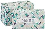 Marca Amazon - Presto! Pañuelos de 4 capas con bálsamo suave - 12 cajas (12 x 80 pañuelos)