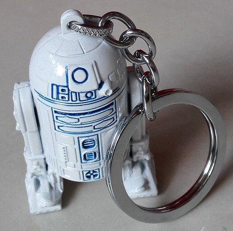Schlüsselanhänger Star Wars R2D2 Neu & Originalverpackt Massiv Metall