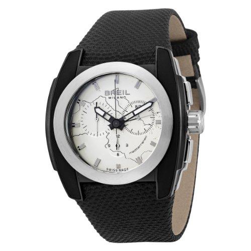 Breil Milano Men's BW0508 Mediterraneo Analog Black Dial Watch