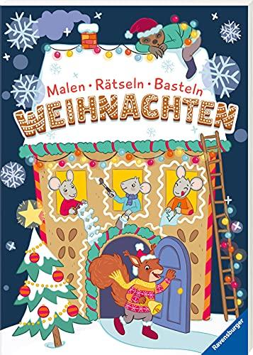Malen - Rätseln - Basteln: Weihnachten