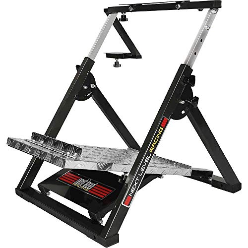 Next Level Racing Wheel Stand - Support évolutif de Volant et Pédalier pour simulation automobile / PC et Consoles