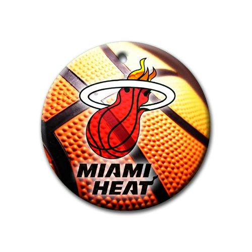 Heat Basketball Ornament round