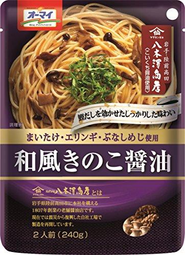 日本製粉 オーマイ 和風きのこ醤油 袋240g