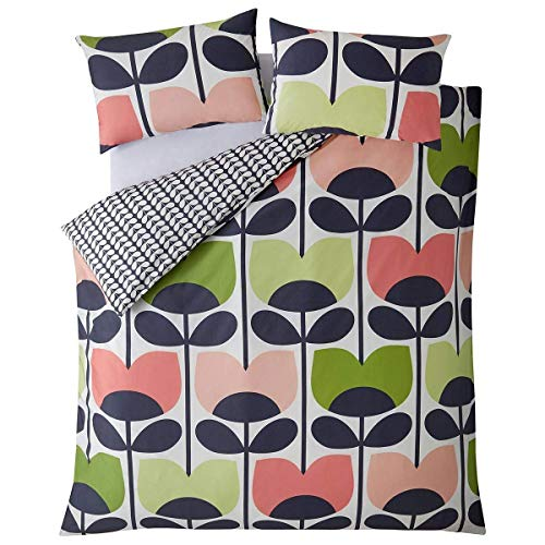 Orla Kiely Climbing Rose Duvet Cover, Single 135x200cm Bedding: Duvet Cover, Single 135x200cm