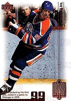 CI  Wayne Gretzky Hockey Card 1999 Wayne Gretzky Living Legend  base  36 Wayne Gretzky