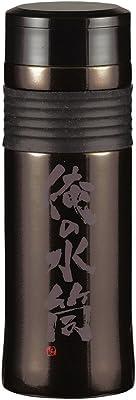 パール金属 水筒 800ml 直飲み ステンレス スポーツ マグ ブラック ガッツリ 俺の水筒 HB-2698