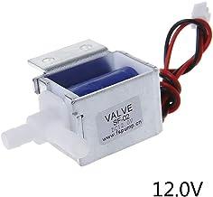 3V1-06 Valvola a 3 Vie a 2 Vie 1//8BSP Valvola Pneumatica a Solenoide Pneumatica Normalmente Chiusa DC 24V Delaman Elettrovalvola a Solenoide