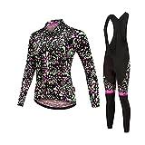 LYYJIAJU Ciclismo Skinsuit Suit Donna Ciclismo Set Triathlon Abbigliamento Bicicletta Bicicletta Mountain Cycling Vestiti Abiti Sport Abbigliamento Sport (Color : A, Size : XS)