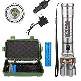 Super Helle Taschenlampe 3000LM T6 LED Taschenlampe Wiederaufladbare High Power