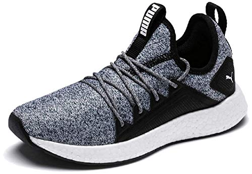 Puma NRGY Neko Knit Jr, Unisex-Kinder Sneakers, Schwarz (Puma Black-Puma White), 39 EU