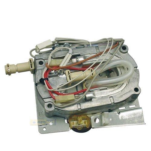 De'Longhi Thermoblock, Durchlauferhitzer, Heizelement komplett mit 6mm Stutzen passend für AEG Caffe Grande, Caffe Silenzio, Ersatz für 4071400966