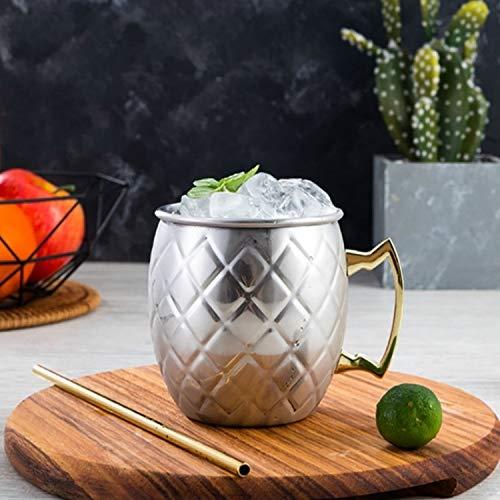 Tuzi QiuGe 2 Edelstahlbecher Cocktailglas Bierkrug