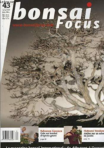 Bonsai Focus N°43 : Crée un bonsaï d'épicéa géant, par Liporace. Atelier sur un arbre de jardin, par Terakawa.
