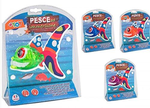 GLOBO s.p.a. (GLO)- Pesce A Immersione C/Luce 38030, Multicolore, 123