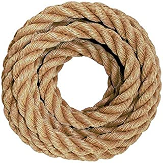 SGT KNOTS Twisted ProManila - UnManila, Twisted 3 Strand, Lightweight Synthetic Rope for DIY Projects, Marine, Commercial ...