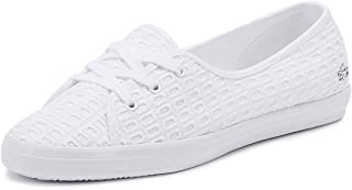 Lacoste Ziane Chunky 219 1 Womens White Trainers