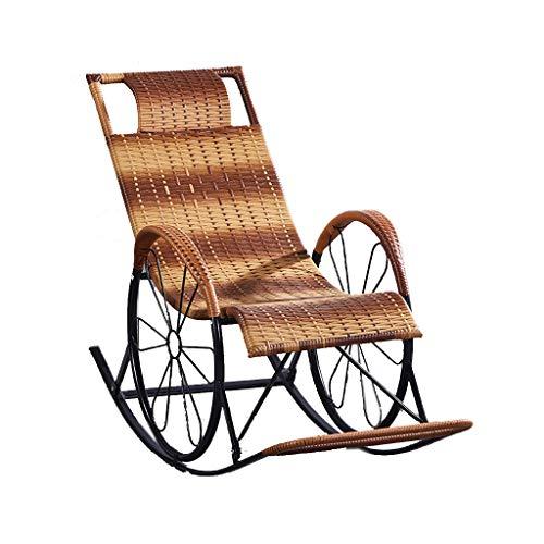 YF-Lounge Chair Sillas de jardín reclinables Sillas reclinables para tumbonas de Playa Sillas plegables de gravedad Cero Sillas reclinables de tumbonas para sillas de jardín Patio al AIRE Libre